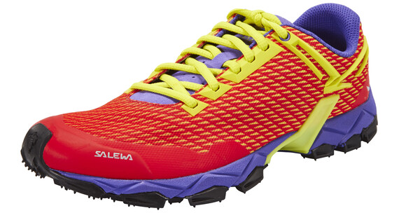 Salewa Lite Train Trailrunning Shoes Women hot coral/citro